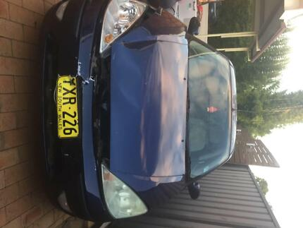 2003 Ford Focus Lx 4 Sp Automatic 5d Hatchback Raby Campbelltown Area Preview