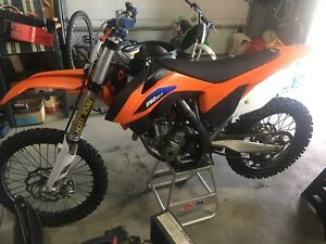 2013 KTM 250 Fuely electric start!