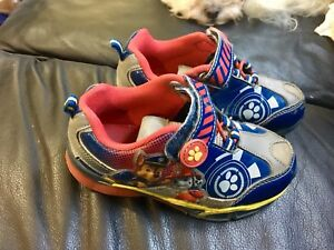 Paw Patrol shoes toddler size 10
