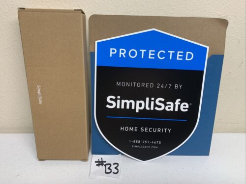 Simplisafe Home Security Alarm Yard Sign With Stake