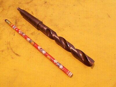 2 Morse Taper Shank 3964 Drill Bit Lathe Mt Mill Tool Morse Usa Flat Nose