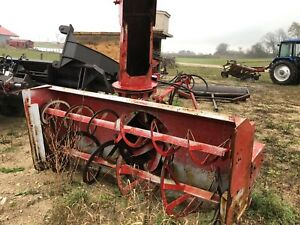 Pronovost double auger blower