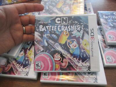Cartoon Network Battle Crashers Nintendo 3Ds Brand New Factory Sealed Us Edition