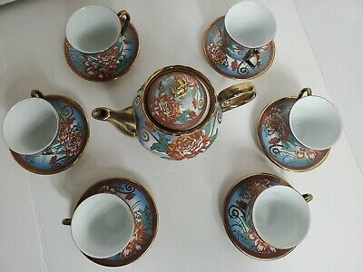 Tableware Mad Hatters Party Wedding Crockery Afternoon Tea Room 8 pcs Vintage Mismatched Coffee Pots Tall Floral Chintz Job Lot of 8