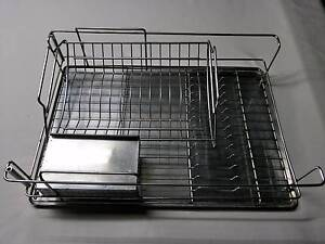 3 Piece Stainless Steel  Cutlery Rack Avoca Bundaberg City Preview