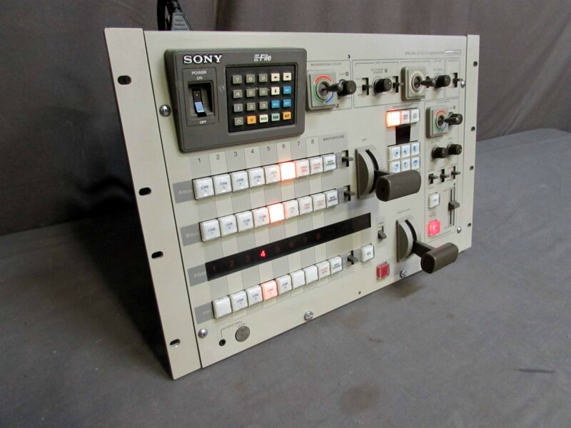 Sony SEG-2550A Special Effects Generator Video Mixer Console