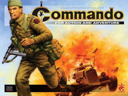 commando comic collection almost complete 9 - 4700 can courier