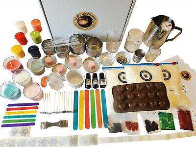 Luxury Candle & Wax Melt Making Kit Starter to Mega Candle Kits - 5 Kit Choices!
