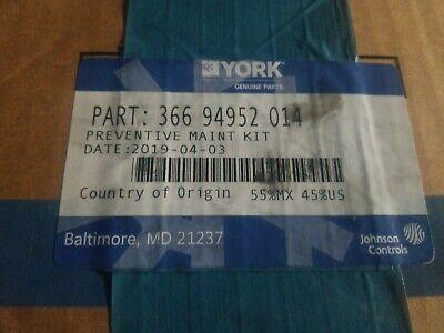 York Chiller Pm Kit Part 366 94952 014