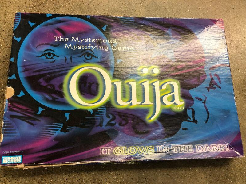 Vintage Ouija Board Glow In The Dark Parker Brothers Game 1998