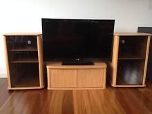 Stylish wood entertainment unit - adjustable size Marrickville Marrickville Area Preview