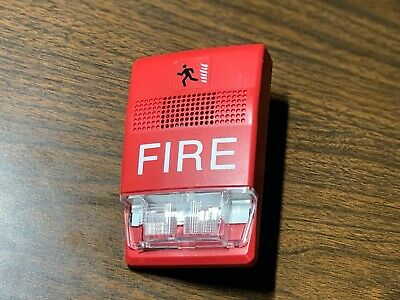 Est Edwards G1rf-hdvm Fire Alarm Genesis Hornstrobe Wall Red