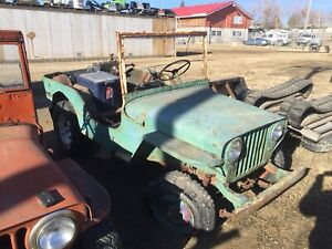 1946 Willys CJ 2A complete