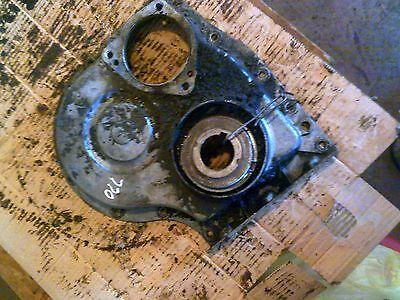 Oliver 770 tractor original engine motor cover panel