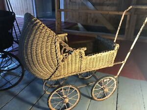 Antique doll buggies