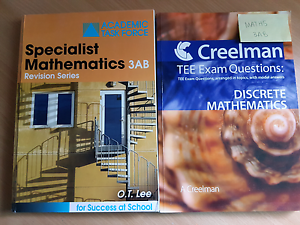 Specialist Maths 3AB Revision Books Perth Perth City Area Preview