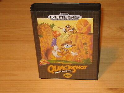 QuackShot Donald Duck (variant) Sega Genesis Case(Box) Only: NO GAME CARTRIDGE comprar usado  Enviando para Brazil