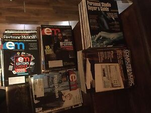 Lot of Electronic Musician magazines