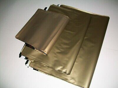 50 GOLD mix sizes Mailing Poly Postal Bags Postage Packaging Mailers Envelopes
