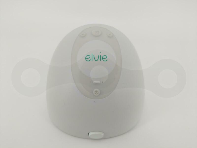 ELVIE BREAST PUMP EP01 ELECTRIC SILENT HASSLE-FREE APP ENABLED SINGLE PIECE