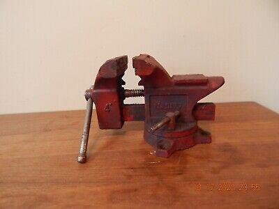 Vintage Machine Drill Press Vise Shop Garage 4 Vice No 5177 Red 10 W X 6 H