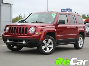 2012 Jeep Patriot Limited REDUCED | 4X4 | HEATED LEATHER | BL...