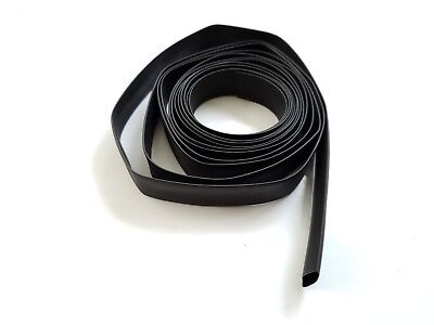 10 Ft 10 Feet Polyolefin 21 Heat Shrink Tubing Tube Cable Black 12 13mm