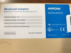 MPOW 4.1 Bluetooth Adapter