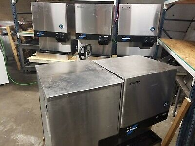 Hoshizaki Dcm-500bah Ice Maker Air-cooled Ice And Water Dispenser Used
