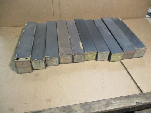 Vintage Player Piano Rolls 10qty 60535 13023 106593 1720 11326 15023 11347 9650