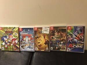 Nintendo Switch Games - Brand New Sealed