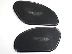 TRIUMPH gas tank rubber KNEEPADS 1965 66 67 thin knee pads set 82-5401