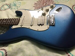 Squier 20th Anniversary Strat  - upgraded