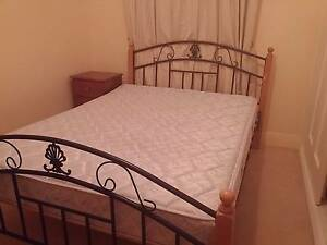 Queen Sized Bed with Mattress plus Bedside draw Prospect Prospect Area Preview