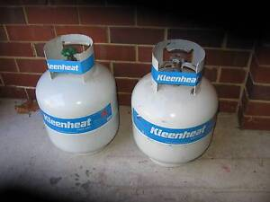 2 New Full Exchange BBQ 8.5 kg Gas Bottles $60 for both FIRM Oakford Serpentine Area Preview