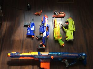 Nerf gun's and ammo