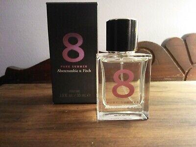 NIB Abercrombie 8 Pure Summer Perfume - 1.0 Fl.Oz./30 ml