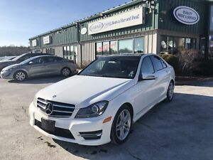 2014 Mercedes-Benz C-Class LEATHER/KEYLESS/ALLOYS/SUNROOF