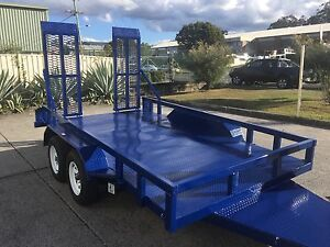 AUSTRALIAN 12x6 MACHINERY TRAILERS BUY DIRECT FROM MANUFACTURE Brisbane South West Preview