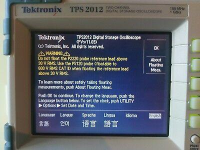 Tektronix Tps2012 Oscilloscope Main Acquisition Board 2ch 100 Mhz 679-5735-xx