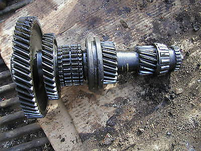 Ford 9n Tractor Original Set Of Lower Transmission Gears And Drive Slide Shaft