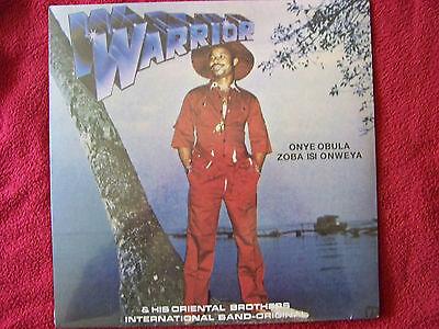Warrior & his Oriental Brothers - Onye obula zoba isi onweya  LP OVP   NEU