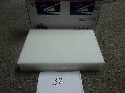 White Delrin Acetal Sheet Block Cnc Mill 1 Piece 32