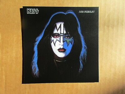 KISS large sticker vinyl decal - album cover, Ace Frehley solo