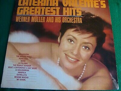 CATERINA VALENTE'S / GREATEST HITS  LONDON PS-441 LP