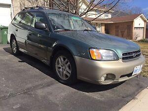 2003 Subaru Outback. AWD
