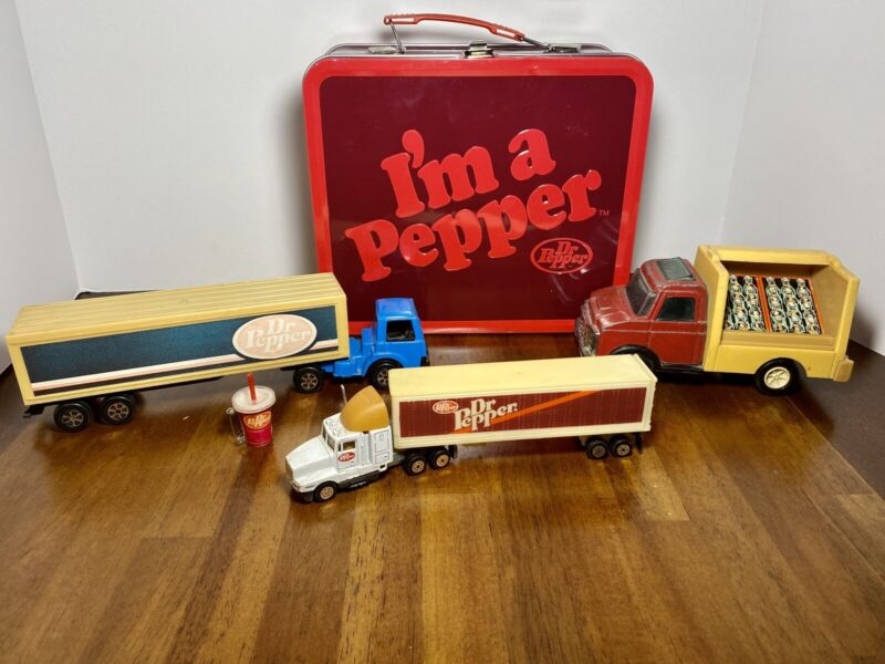 Dr. Pepper Collectibles Lot (6)