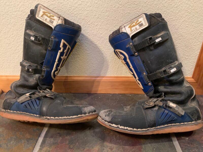 Vintage AXO Trials Boots