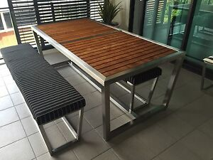 Outdoor Dining Setting Norman Park Brisbane South East Preview
