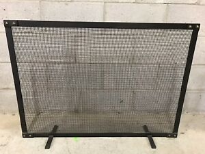 Fire Place Screen and Tool Set - Restoration Hardware